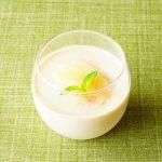 anan連載【旬を味わう♡美人レシピ♪】vol.26「白桃のパンナコッタ」