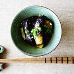 anan連載【旬を味わう♡美人レシピ♪】vol.31「なすの煮びたし」